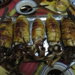 stuffed squid, noanoa