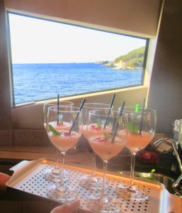 frose with a view