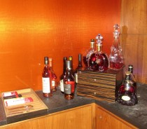 a selection of whiskeys