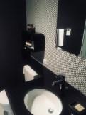 retro style in the bathroom