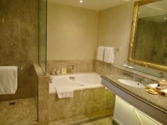 huge marble bathrooms