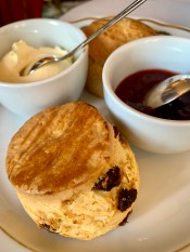 the perfect scone at the milestone