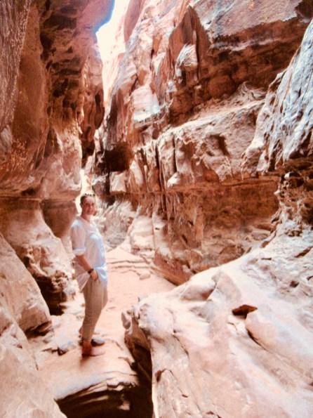 exploring Wadi Rum