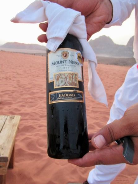 Jordanian wine
