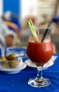 afternoon tomato juice