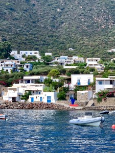 Panarea from the water
