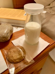 bedtime milk & cookies at The Post