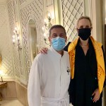 me with Dominique Gauthier at the Beau-Rivage Geneva