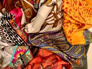 a few of my Hermès scarves