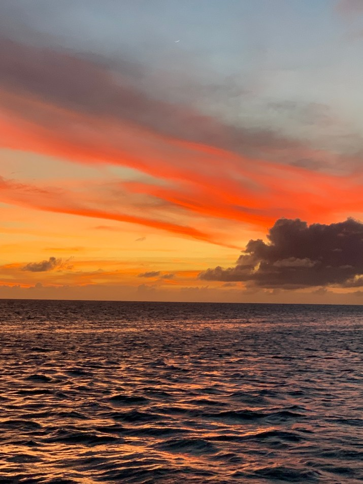 Beautiful Barbuda sunset
