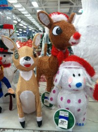 rudolph christmas decorations | Billingsblessingbags.org