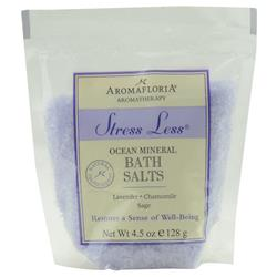 Stress Less Bath Salt Packet Blend Of Lavender, Chamomile, And Sage 4.5 oz 278674