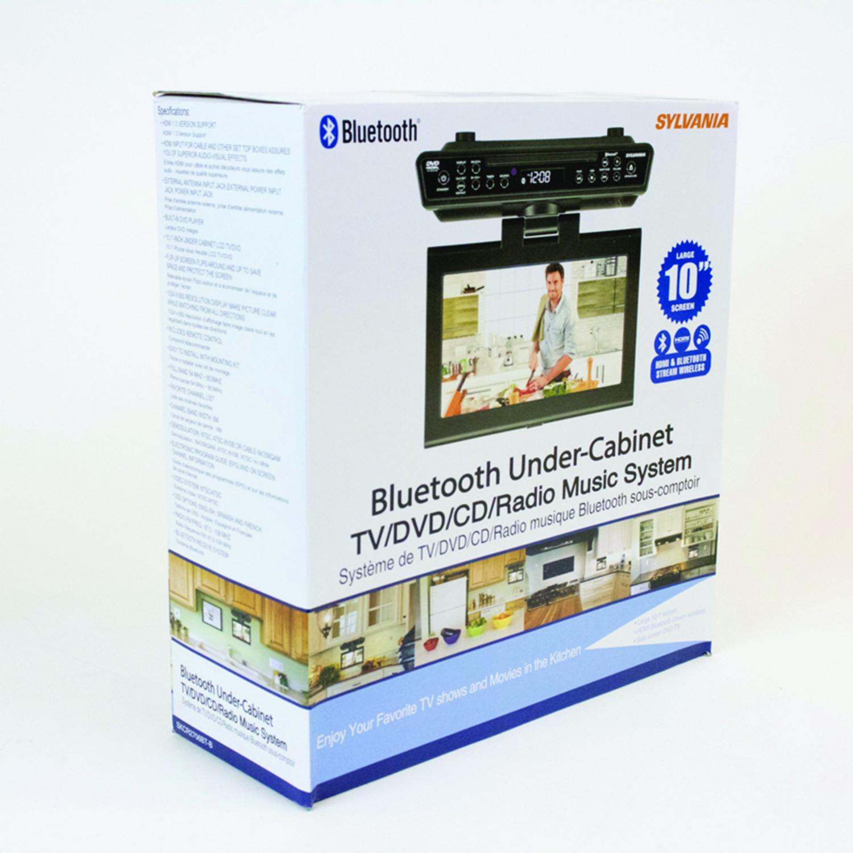SYLVANIA SKCR2706BT 10.2 inch Under-Counter Bluetooth® Kitchen TV ...