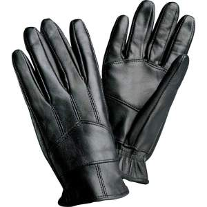 Giovanni Navarre Solid Genuine Leather Driving Gloves GFDRIVEACH