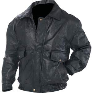 Napoline Roman Rock Design Genuine Leather Jacket