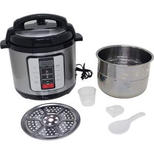 Precise Heat™ 6.3Qt. Electric Pressure Cooker –Stainless Steel Inner Pot KTELPCS