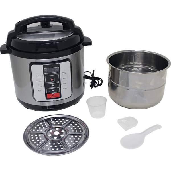 Precise Heat™ 6.3Qt. Electric Pressure Cooker –Stainless Steel Inner Pot KTELPCS