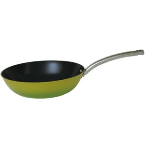 Light Enamel Cast Iron Nonstick Skillet 12-Inch. FCF30L018G2T