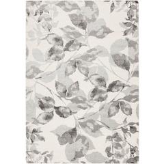 Surya Aberdine Gray Charcoal Ivory Area Rug ABE-8001