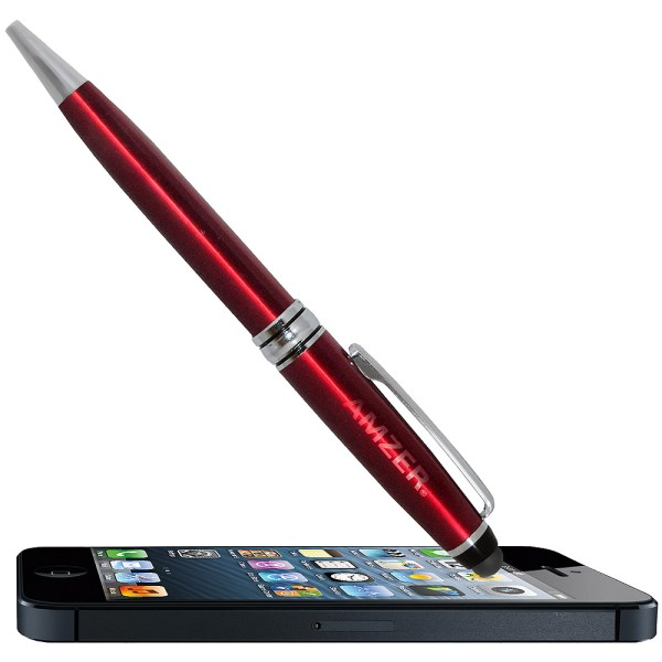 Amzer® Dual Sketch and Styli Pen - Red 94863