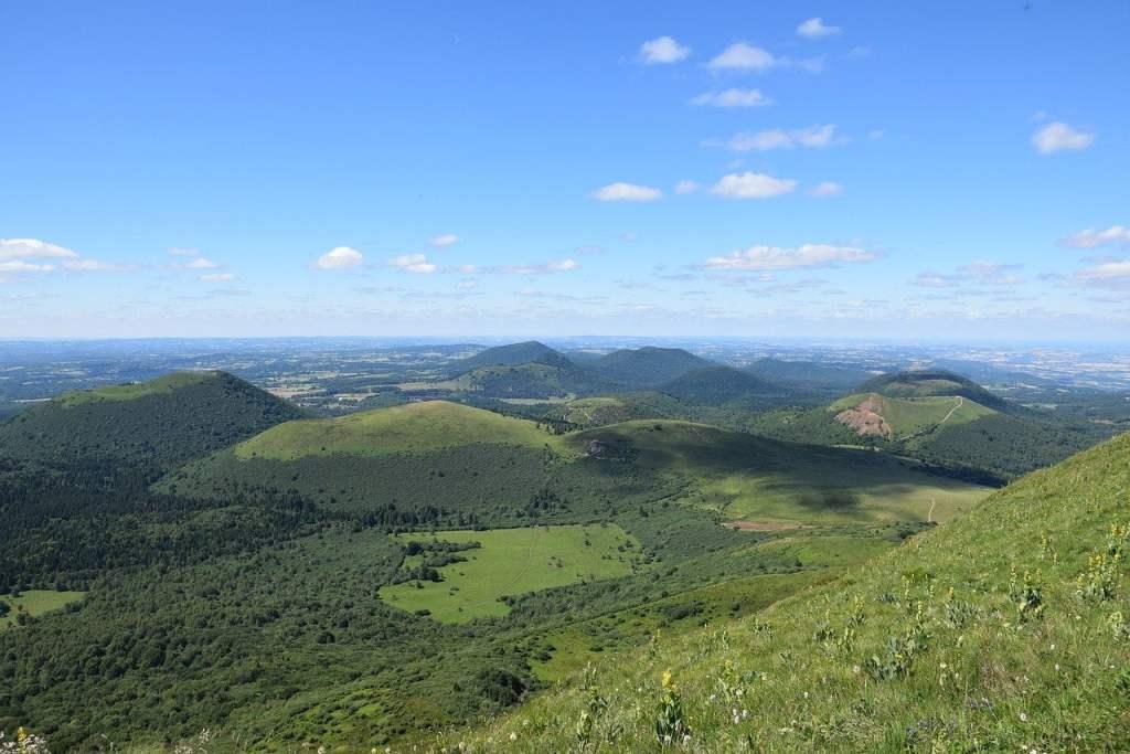 Chaine du Puy, Auvergne