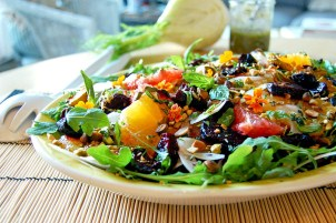 Salade de betteraves et agrumes