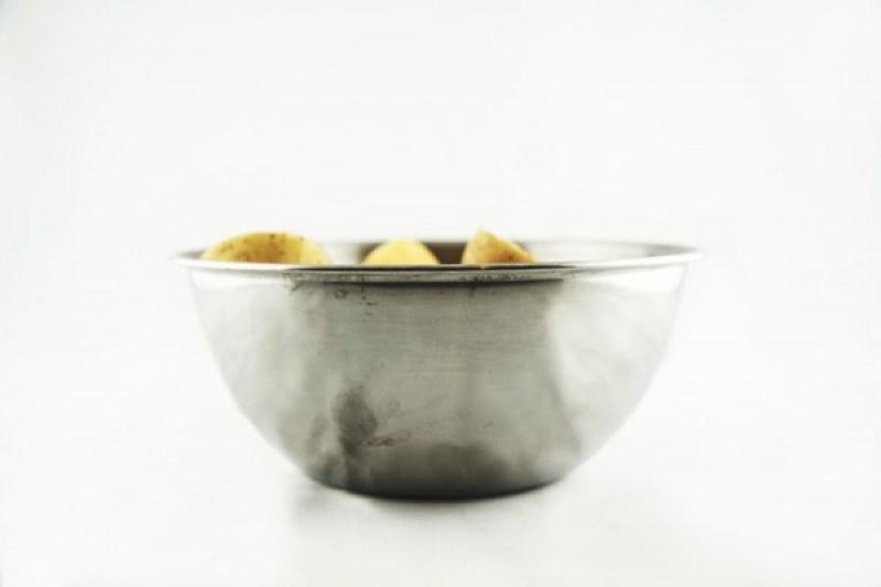 Pommes de terre lavées