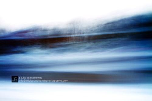 Sur la route © Julie Beauchemin