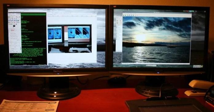 dual screens