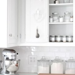 Kitchen Aid Cabinets Herb Kit Baking And Spice Cabinet With Free Printable Jar Labels Adding Additional Storage In Your Using Command Hooks