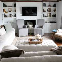 How To Clean Belgian Linen Sofa Ultra Modern Our Living Room Julie Blanner