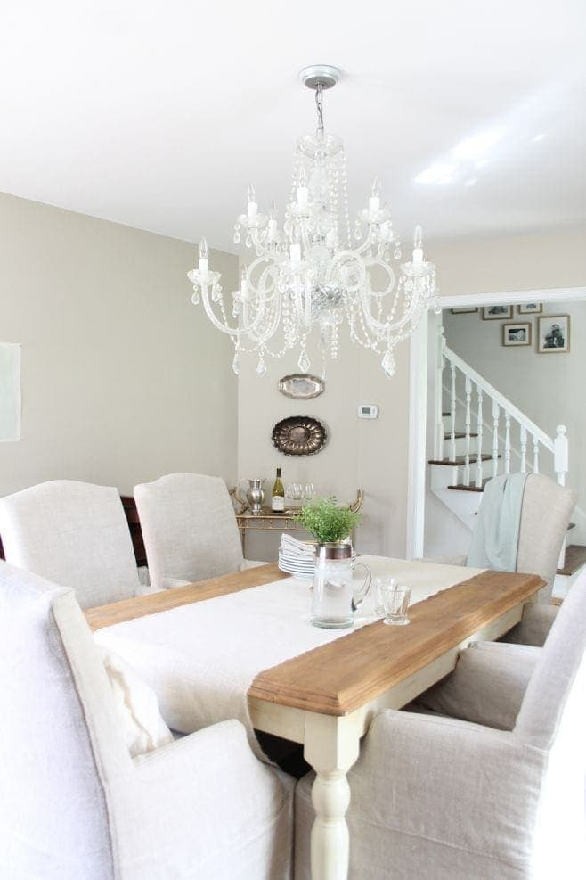 best neutral paint colors for living room sherwin williams aqua our palette the color dining was recently painted accessible beige entertaining lifestyle blogger julie blanner s