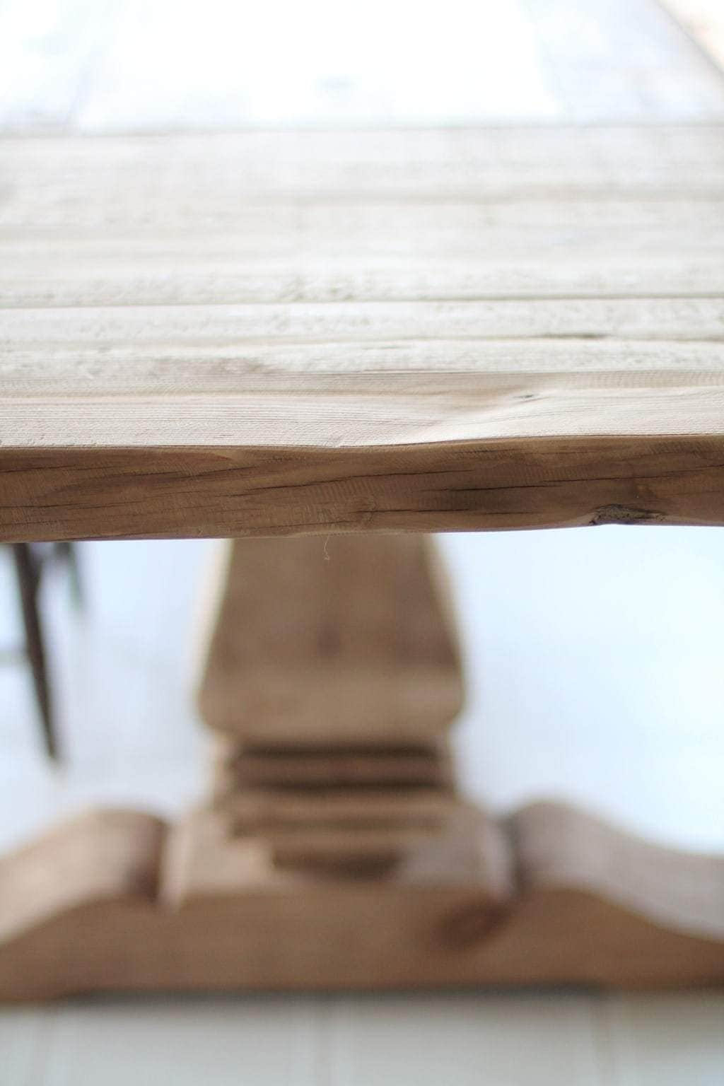 white washed oak dining table and chairs chair covers canadian tire restoration hardware finishes & ways to protect it