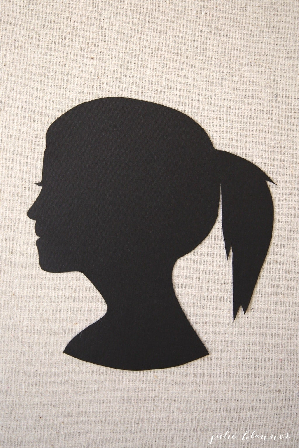 How To Make Your Own Silhouette Portrait