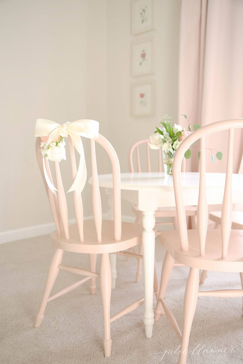 little girl chairs tufted leather chair a sweet and simple 39s room