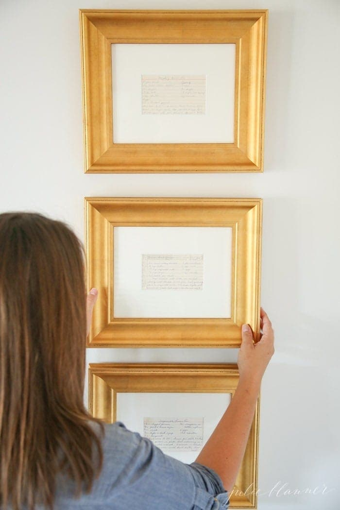 framed prints for kitchens kitchen remodeling ideas on a small budget easy art family recipes frame beautiful