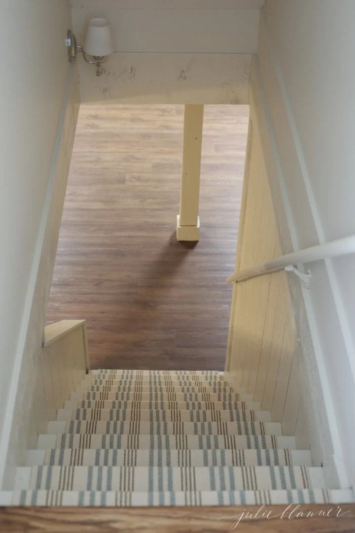 How To Redo Basement Stairs On A Budget With Indoor Outdoor Stair   Carpet For Basement Stairs   Exterior   Finishing   Navy Blue   Herringbone   Berber