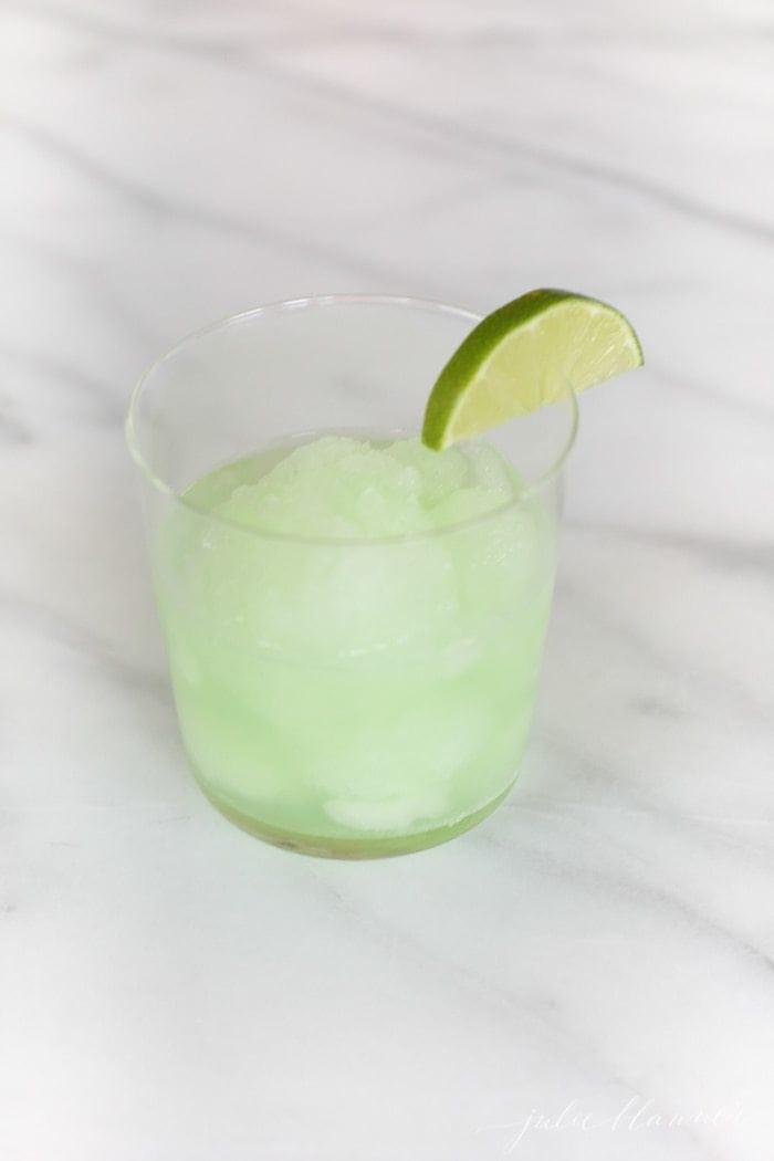 Margarita Float Ice Cream Cocktails