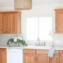 How To Make Kitchen Cabinets Water Dispenser Updating A With Oak Tips And Tricks Update Dated Without Painting Them Your