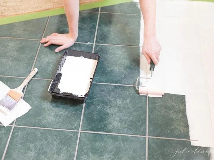 exterior floor tile paint