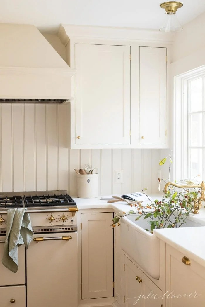 New Kitchen  A Cream Kitchen with Timeless Design