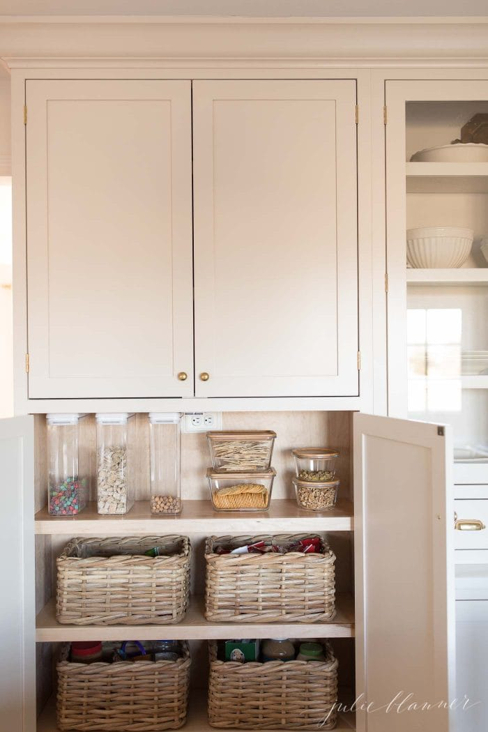 how to add a pantry your kitchen create in small organize cabinet