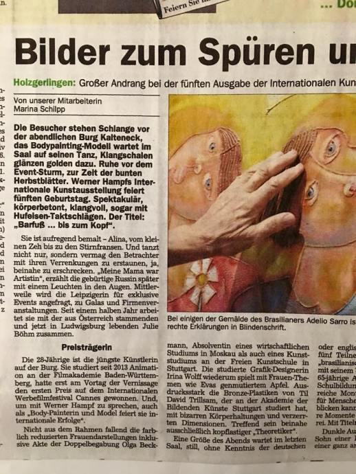 5. Internationale Kunstausstellung Burg Kalteneck 2015
