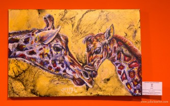 acrylics, mixed media 60 x 40 cm