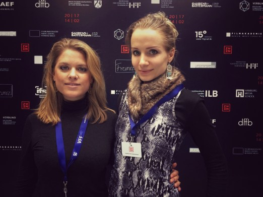 Empfang der Filmhochschulen with my Producer Ann-Ka Boberg