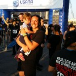My biz partner Amy and her daughter completed the True Health Foundation 5K run this morning