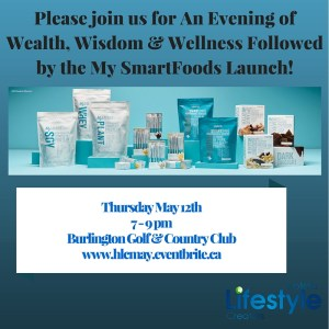 Please join us for An Evening of Wealth, Wisdom & Wellness Followed by the My SmartFoods Launch!