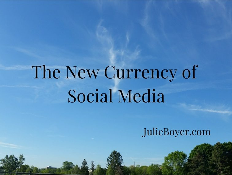 The New Currency of Social Media