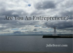 Are You An Entrepreneur-