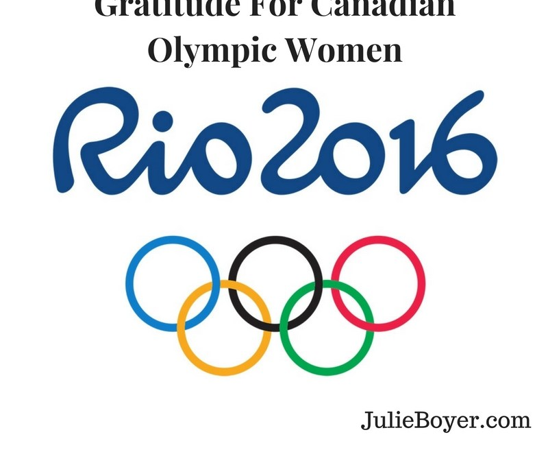 Gratitude for Canadian Olympic Women